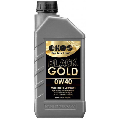 Eros Black Gold OW40 water based lubricant 1 Lt