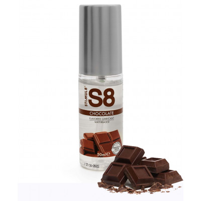 Chocolate flavored water based Edible Lube 50ml