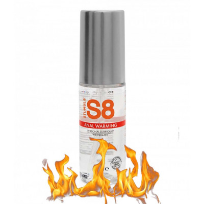 S8 Warming Anal Lubricant 50ml