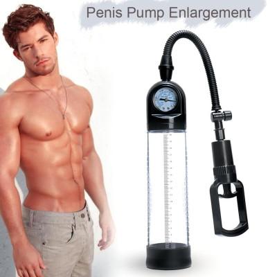Penis Pump with Pressure gauge controller 26cm