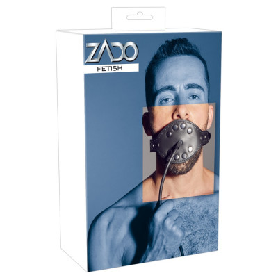 ZADO Bondage inflatable leather Gag