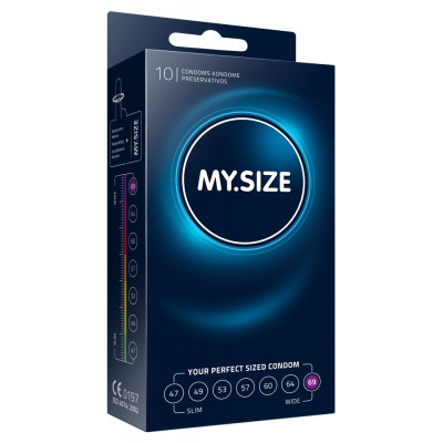 Προφυλακτικά MySize 69mm συσκευασία 10 τεμ