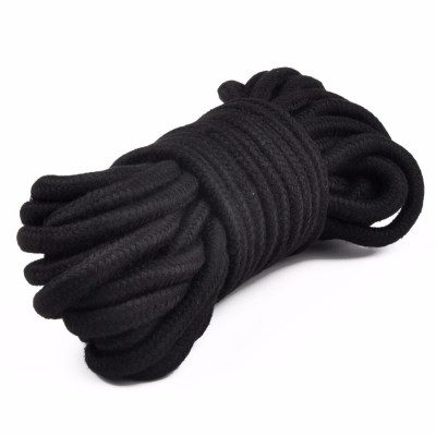 Bondage Rope Black 10 meters