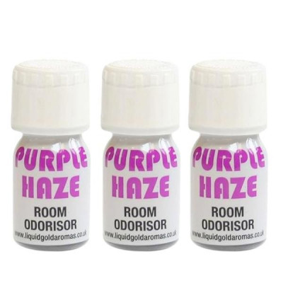 SPECIAL OFFER Purple Haze 3 X 10ml Poppers