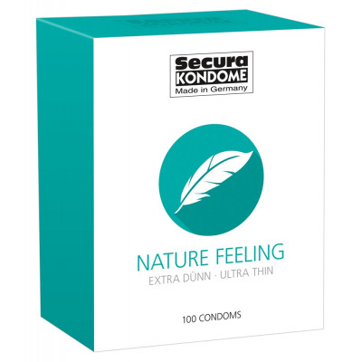 Secura Nature Feeling extra thin Condoms 100 pcs
