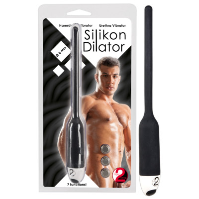 Silicone Dilator with vibration You2Toys 19 cm