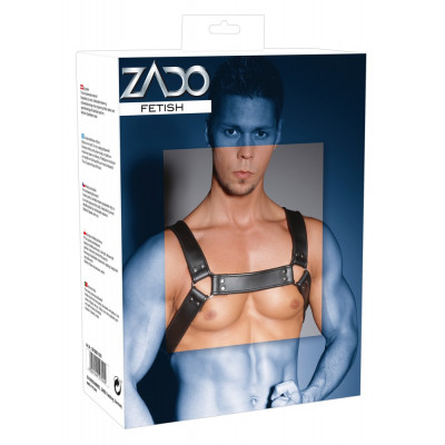 Leather Chest Harness ZADO