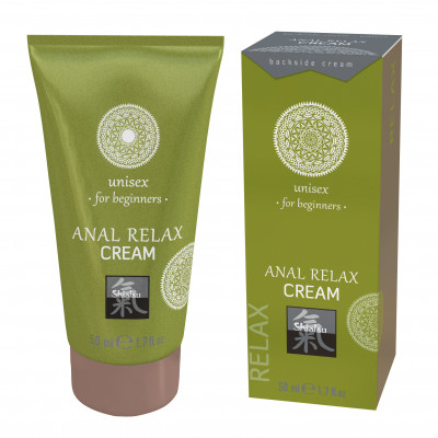 Anal Relax Cream Beginners Shiatsu 50 ml