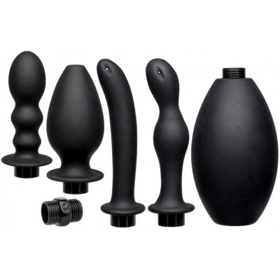 Kink Silicone Anal Douche Set
