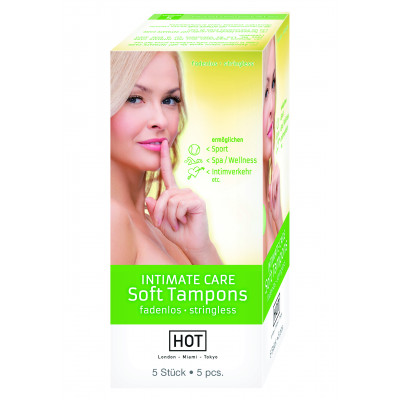 HOT Intimate Care Soft Tampons 5 pcs