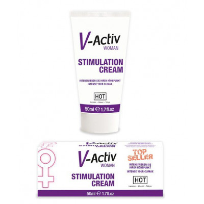 V-Activ Stimulation Creme Woman 50ml
