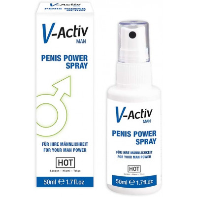 Σπρέι διέγερσης πέους V-Activ Penis Power Spray 50ml