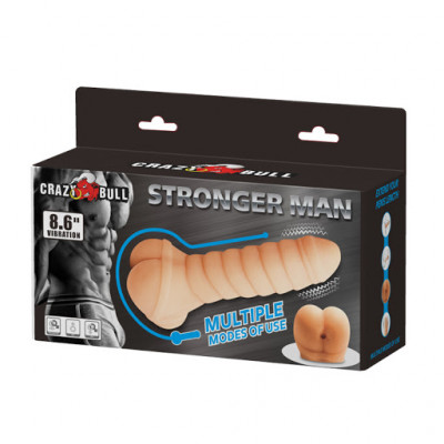 Crazy Bull Stronger Man Stroker & Extender with vibration
