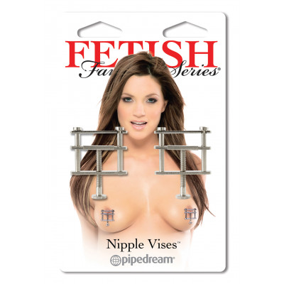 Fetish Fantasy Metallic Adjustable Nipple Vises