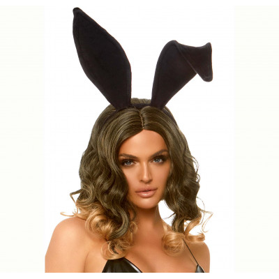 Bendable velvet bunny ears