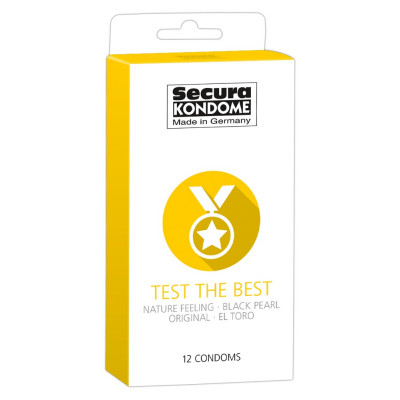 "Secura ""Test the Best"" Mixed Pack 12 pcs"