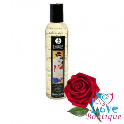 Shunga Massage Oil Sweet Rose 60ml