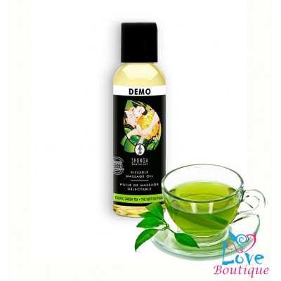 Shunga Massage Oil Organic Green Tea 60ml