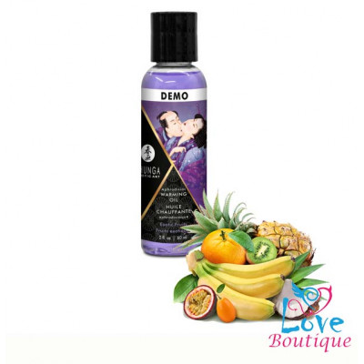 Shunga Intimate Kisses Aphrodisiac Oil Exotic Fruit 60ml