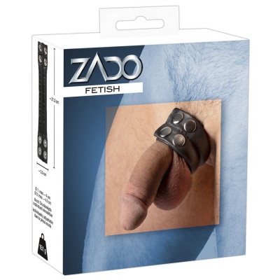 Zado δερμάτινο ενα μεγεθος δαχτυλίδι πέους