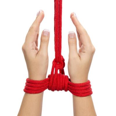 Shibari Red Bondage Rope 3 Meter