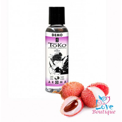 Shunga Toko Lustful Litchee Flavored Lubricant 60ml