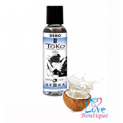 Shunga Toko Coconut Water Flavored Lubricant 60ml