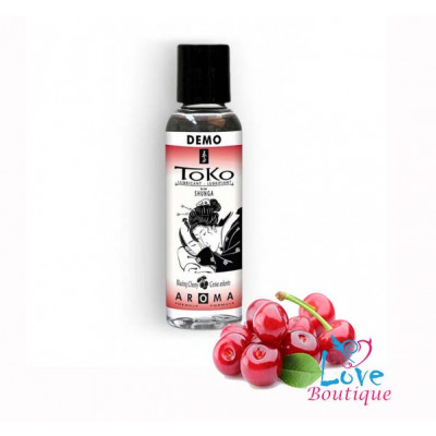 Shunga Toko Blazing Cherry Flavored Lubricant 60ml