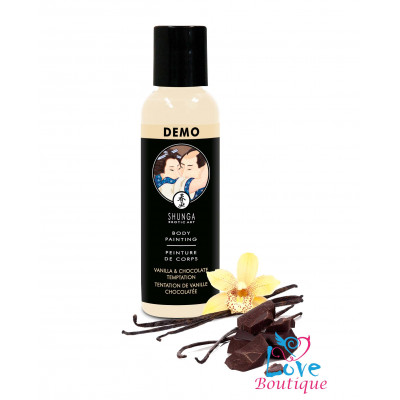 Shunga Vanilla & Chocolate Temptation Body Paint 60ml