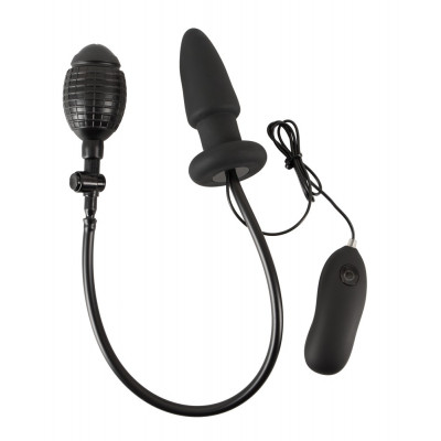 Inflatable Vibrating Butt Plug