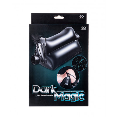 Dark Magic Portable Inflatable Pillow with 2 cuffs