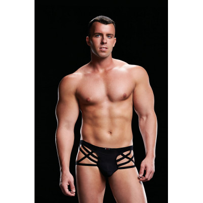 ENVY Low-Rise Thong Black