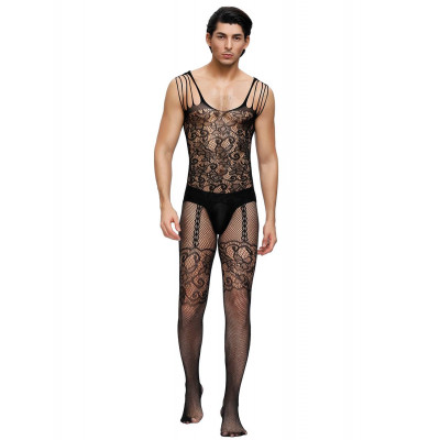 Strappy Shoulder Bodystocking for Him
